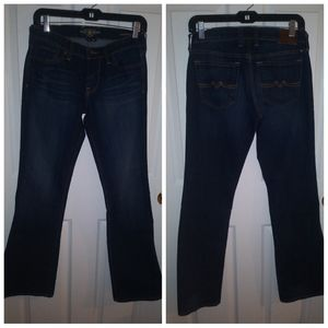 Lucky brand jeans sweet n flare size 2/26